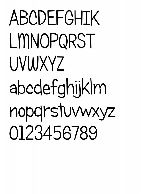 Lettertype 5