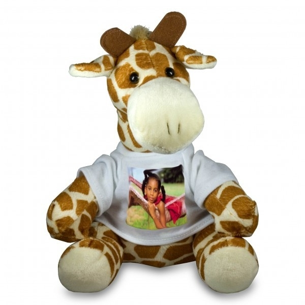 Knuffel, Giraf met shirt