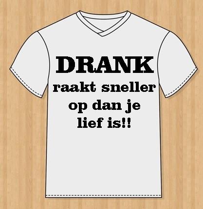 t-shirt drank