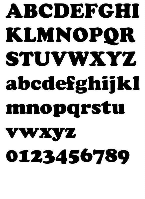 Lettertype 8