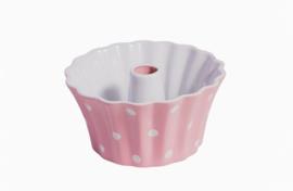 Isabelle Rose Retro keramiek ovenschaal  rose Polka Dots