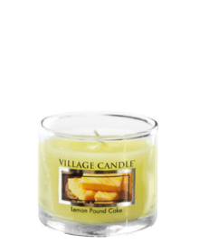 Village Candle  Lemon Pound Cake Mini Glass Votive