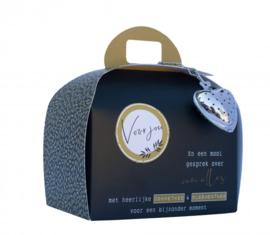 Theetas- Koffer  Voor jou en een mooi gesprek over van alles