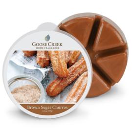 Brown Sugar Churros Goose Creek Candle 1 Wax Melt blokje