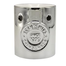 Waxmelt - Olie Geurbrander Zilver  8x8x10cm