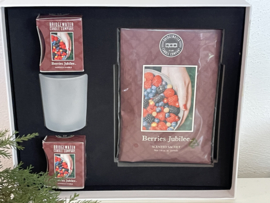 Luxe kadobox Berries Jubilee  Bridgewater Candle Company