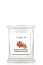 Christmas Stars   Classic Candle Midi Jar