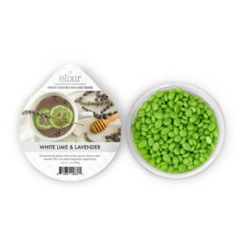 White Lime & Lavender Goose Creek Elixer Wax  Melt Cup