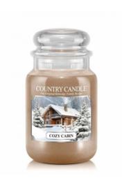 Cozy Cabin Country Candle Large Jar 150 Branduren