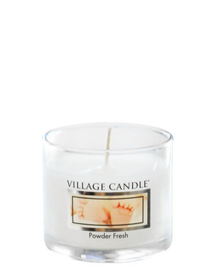 Village Candle  Powder Fresh Mini Glass Votive