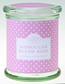 The Country Candle Compagny   Morrocan Blush Rose Medium Jar