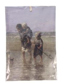 Geurzakje Kinderen in de zee (fresh cotton) 17x11,5cm