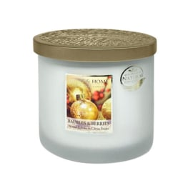 Baubles & Berries Heart & Home Ellips 2 wick Candle 230 gram