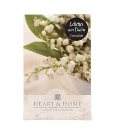 Lelietjes van Dalen Heart & Home Geurzakje