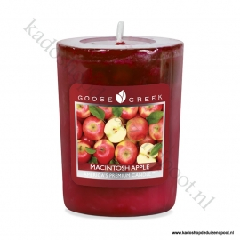 Macintosh Apple Goose Creek Candle Votive Geurkaars