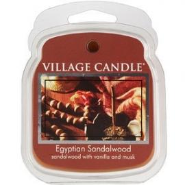 Egyptian Sandalwood  Village Candle  1Wax Meltblokje