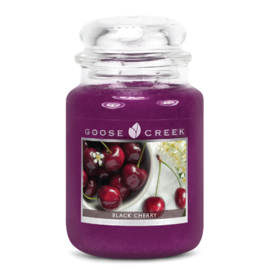 Black Cherry  Goose Creek Candle Large 150 Branduren