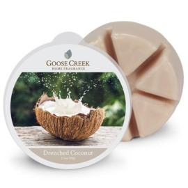Drenched Coconut Goose Creek   Wax Melt