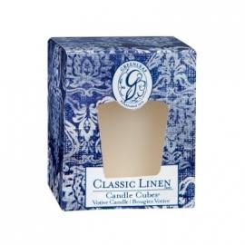 Classic Linen  Greenleaf Geurkaars