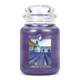 Lavender de France  Goose Creek Candle® Geurkaars Large 150 Branduren