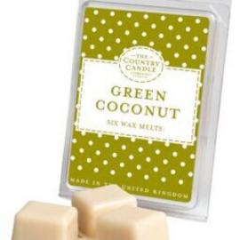 Green Coconut Polka Dots Wax Melt
