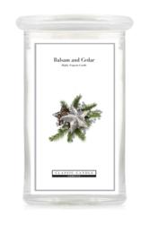 Balsam & Cedar  Classic Candle Large 2 wick