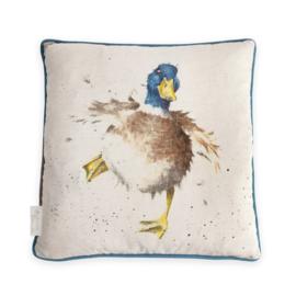 Wrendale Designs kussen Duck   40 x 40 CM