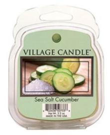 Sea Salt Cucumber  Village Candle Wax Melt