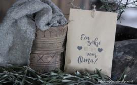 Geurzakje  ''Een zakje vol liefs Oma''