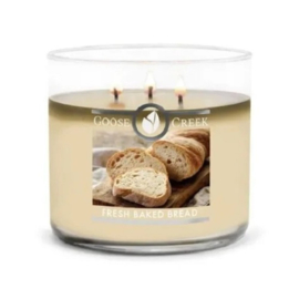 Fresh Baked Bread Goose Creek Candle Soy Blend 3 Wick Tumbler