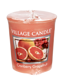 Cranberry & Grapefruit Village Candle  Premium (61g) Votive