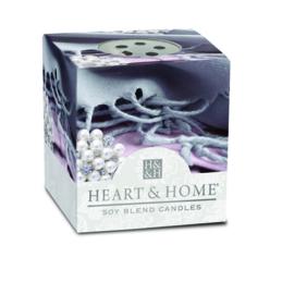 Cashmere Heart & Home Votive Geurkaars