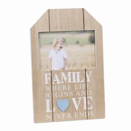 Fotolijst hout Family