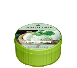 Pistachio Gelato Country Candle  Daylight