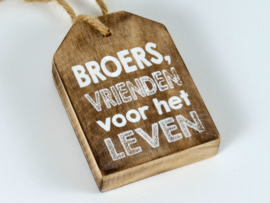 Broers ...tekstlabel