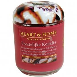 Feestelijke Koekjes Heart & Home Large Jar