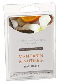 Manderin & Nutmeg  The Country Candle Company Waxmelt