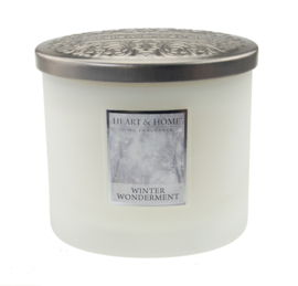 Winter Wonderment  Heart & Home  2 Wick Ellipse Candle