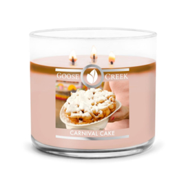 Carnival Cake Goose Creek Candle  Soy Blend  3 Wick Tumbler