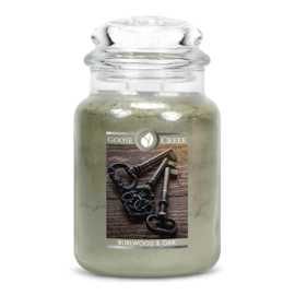 Burlwood & Oak  Goose Creek Candle  150 Branduren
