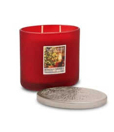Home For Christmas Heart & Home ovaal 2 wick Candle