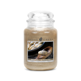 Brown Butter Pistachio Goose Creek Candle  150 Branduren