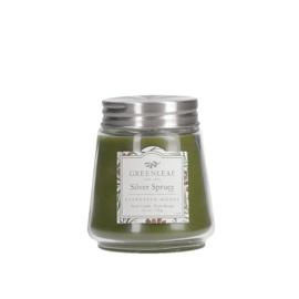 Silver Spruce Greenleaf  Petite Candle