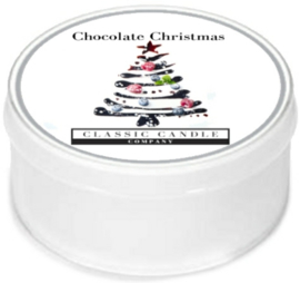 Chocolate Christmas   Classic Candle MiniLight