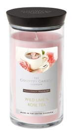 Wild Lime & Rose Tea Country Candle Medium jar