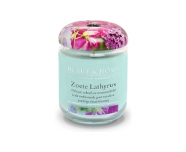 Zoete Lathyrus Heart & Home Large Jar 340 gram