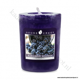 Blackberry BourbonGoose Creek Candle Votive Geurkaars