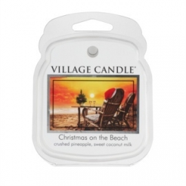 Christmas on the Beach  Village Candle 1 Wax Meltblokje