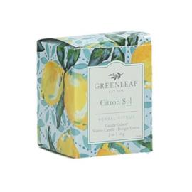 Citron Sol   Greenleaf Geurkaars
