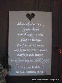 Fries Liefde is